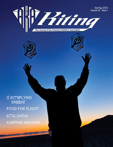 A new issue of Kiting is on its way!