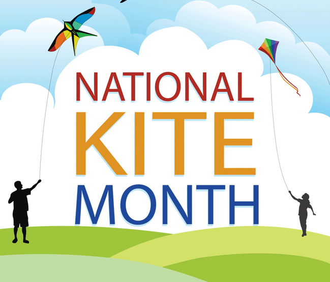 National Kite Month is coming!