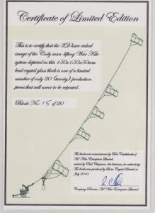 Certificate of Limited Edition