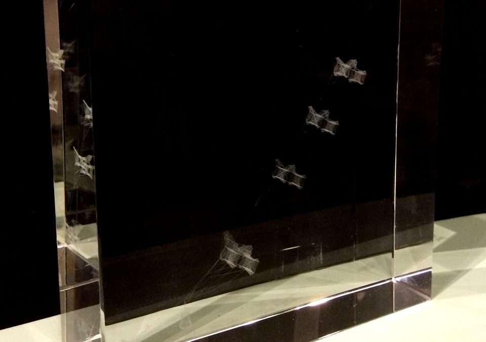 Raffle: 3D Laser Etched Cube