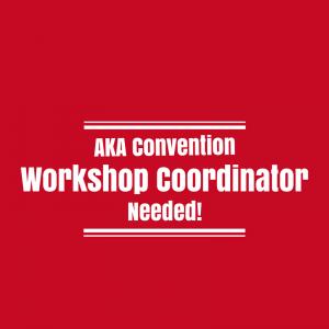 Workshop Coordinator