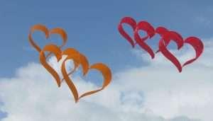 Joy of Kites Heart Kite
